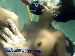 Bamboo Gushes Underwater