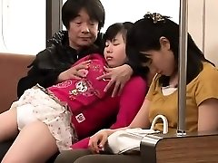Asian nubile having sex in public place