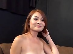 Redhead Japanese Babe Has Great Fuct Casting 420
