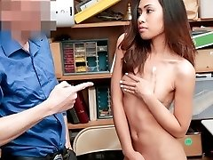 Shoplyfter - Skinny Asian Teenager Undressed And Fucked