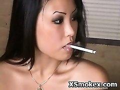 Smoking Hard-core Mischievous Whore