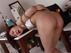 Slapping & Caning A  Japanese OL