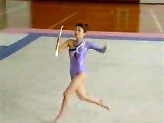 Chinese Bare Gymnast