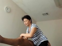 asian milf blessed completing