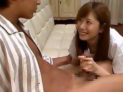 Incredible Japanese woman Yuma Asami in Crazy Cumshots, Big Globes JAV movie