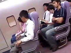 Japanese cabin attendants service