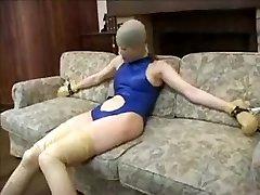 Exotic fledgling Spandex, Fetish adult clip
