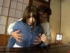 Crazy Asian model Chitose Saegusa in Nasty cunnilingus, bbw JAV clip