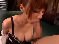 Wild Japanese chick Tsubasa Amami in Amazing Handjobs, Blowjob JAV video