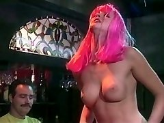 Cock-squeezing pussy Mia Smiles has wild three way after party