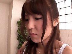 Exotic Japanese doll Kokoro Maki in Hottest butt licking, couple JAV scene
