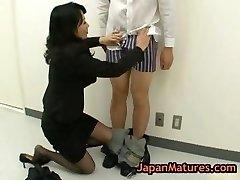 Natsumi kitahara asslicking some stud part1