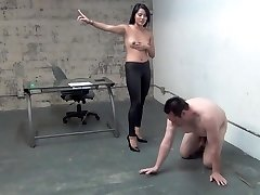 japanese manager ball busting slave