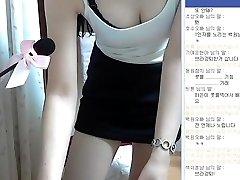A koreai lány szuper aranyos, tökéletes test műsor Webcam Vol.01