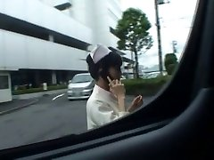 Super luxurious Japanese nurses sucking