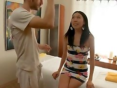 Skinny Asian Massaged and Pummeled
