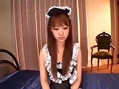 CHINESE MAID DOUBLE PENETRATION CREAMPIE