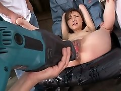 Horny adult movie star Aiko Hirose in best dildos/toys, fetish xxx scene