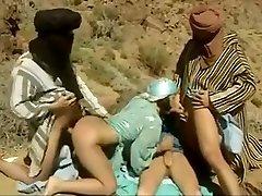 Fabulous homemade Arab, Gangbang adult movie