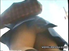 Upskirt Panties Hidden Cam Flick