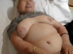 80yr elderly Japanese Granny Still Loves to Tear Up (Uncensored)
