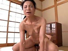 Japanese Grandmother 70 yo (censored)