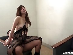 Farmer damsel masturbates and deep-throats her uncle