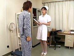 Flawless Asian Nurse SUCK OFF CIM