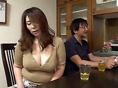 GVH-119 Stepson-in-law Aiming For Too Obscene Big Bra-stuffers Of Mother-in-law