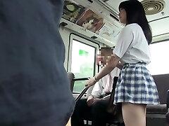 Amazing Japanese slut Satomi Nomiya in Insane school, public JAV scene