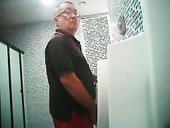 Daddy in urinal I