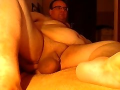 Cumming two Large balls after play