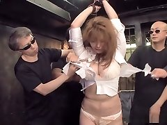 Insane gangbang scene with Asian bombshell Hinata Komine