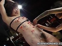 Very horny bdsm session for the ugly slut