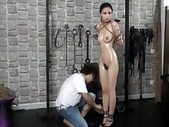 Elegent japanese nude model Anke in Bdsm