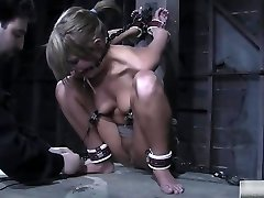 Horny Honey Is Into Some Hardcore Bdsm