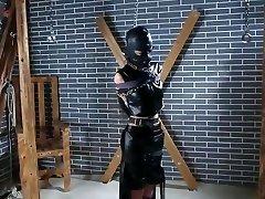 Tifa Cosplay Bondage