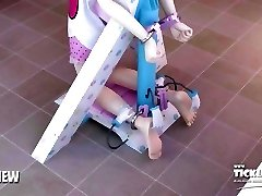 [PREVIEW] www.tickle.style - 3d Gal Feet Tickle