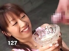 Pervert japan girl drink 157 explosions of cum