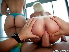 Where there's nothing but big asses on display. This update is a perfect example of what we here at BangBros have to offer. Champ brings his huge fat cock to fuck a big booty.