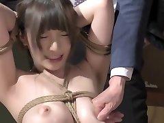 Best Japanese chick in Gorgeous HD, BDSM JAV scene