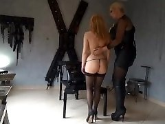 Youthfull slave first time dominated