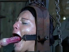 Sub slut caned before xxx restrain