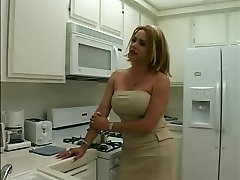Sexy blonde tranny gets her lengthy thick cock fellated
