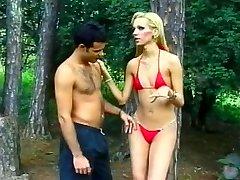 Visoka Plavuša Brazilski Tranny