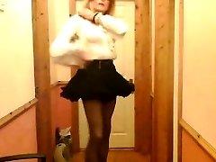 Limerick Sissy Mike Quinn Showcases Lingerie
