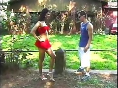 Blowing Her Brazilian Man-meat