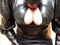 Rubberwhore mastubate in Spandex