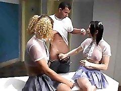 Transgirl Threesome