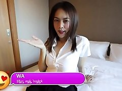 HELLOLADYBOY Asian School Ladyboy Penetrated In Her Mini Skirt